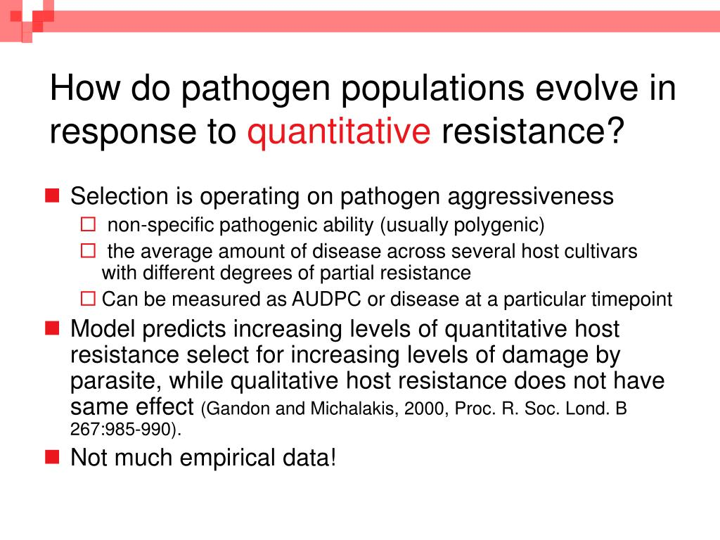 How do pathogen populations evolve in response to