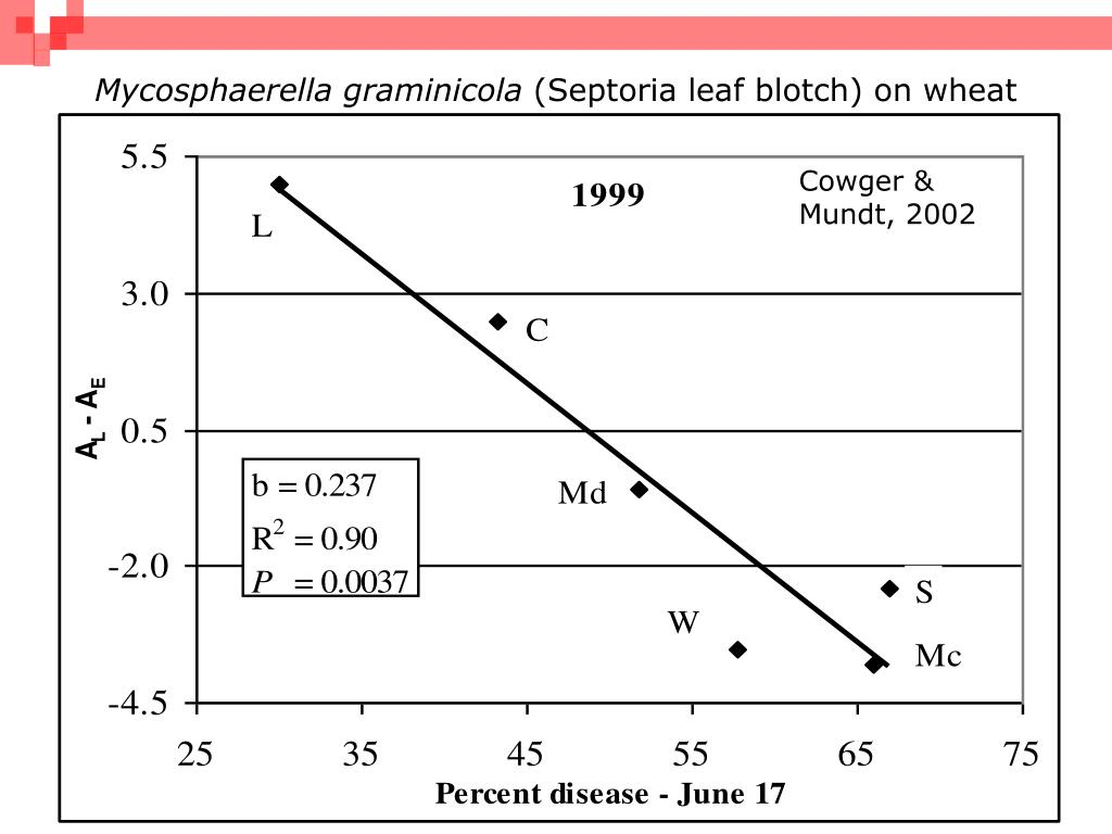 resistance of wheat to mycosphaerella graminicola Mycosphaerella graminicola, the causal agent of septoria tritici blotch (stb), is a widespread and significant pathogen of wheat to determine mating types, 89 isolates were collected randomly from wheat fields of khuzestan, east azerbaijan, ardebil, kermanshah and golestan provinces of iran, during 2006-7.