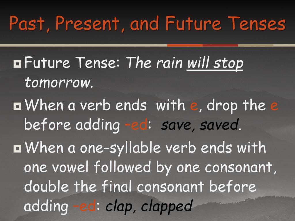 Past Present Future Ppt Slide