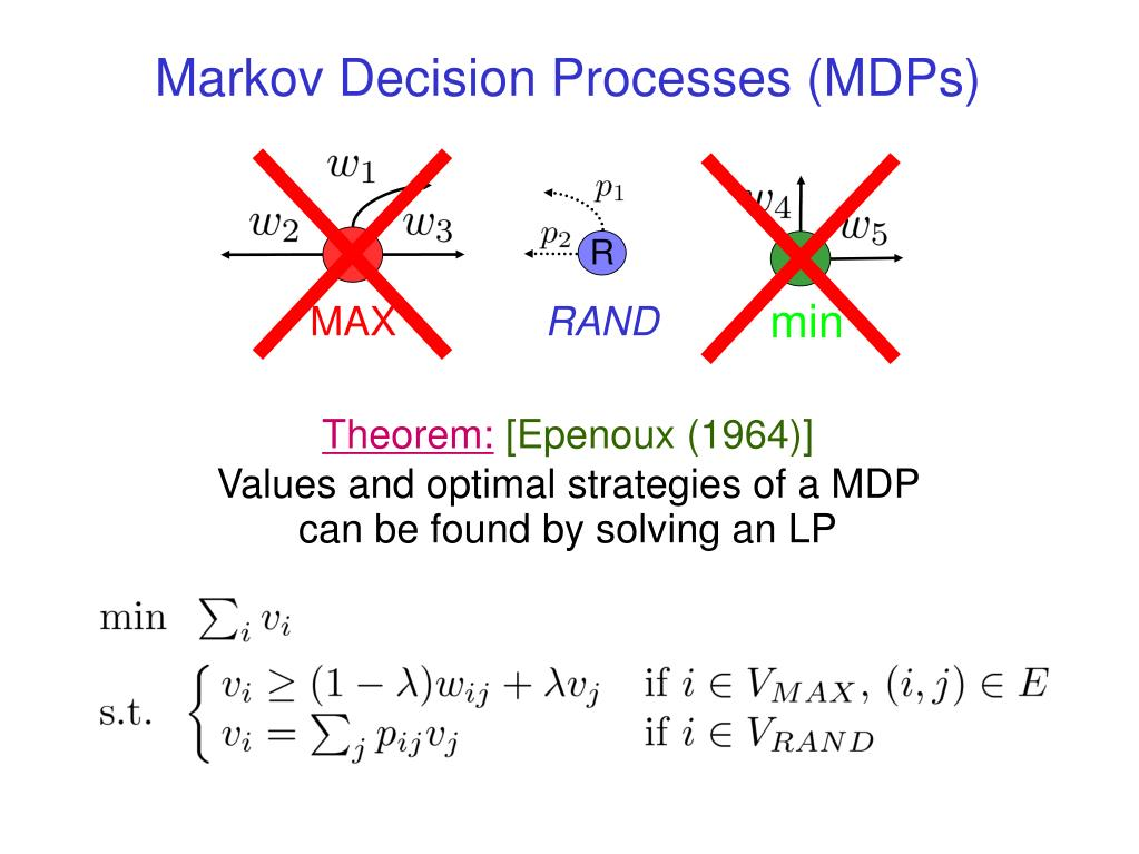 Markov Decision Processes (MDPs)