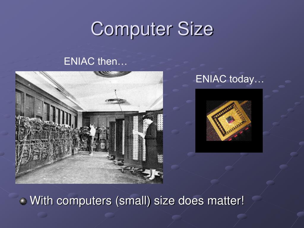 Computer Size