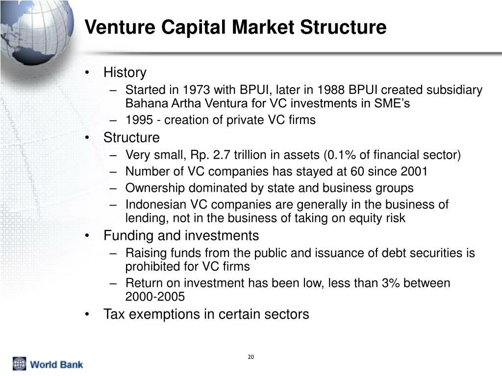 Venture Capital Market Structure