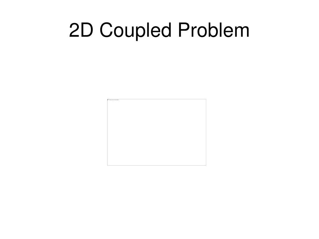 2D Coupled Problem