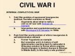civil war i