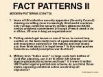 fact patterns ii
