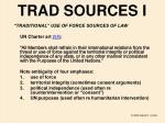 trad sources i