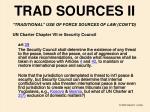 trad sources ii