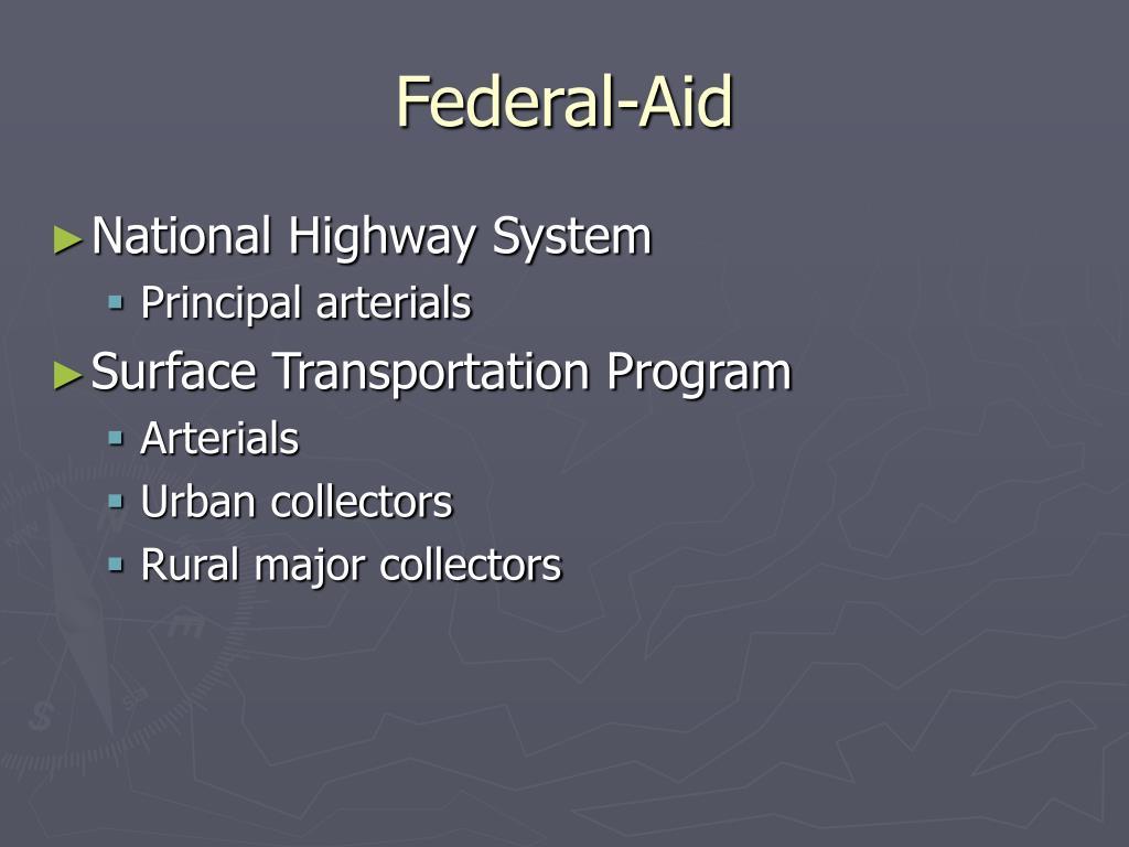 Federal-Aid