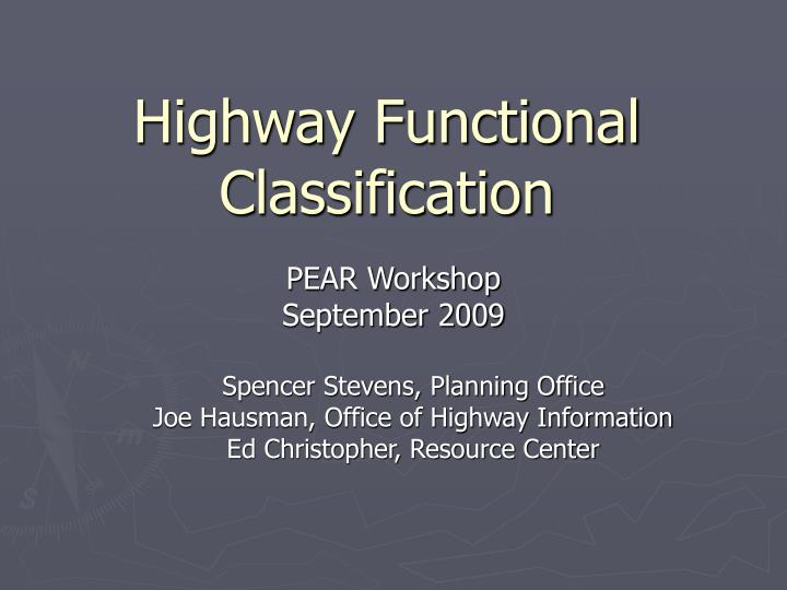 Highway functional classification l.jpg
