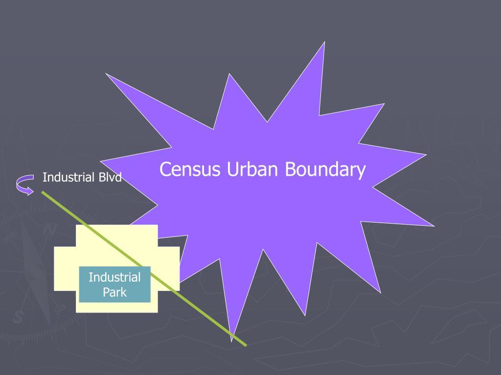Census Urban Boundary
