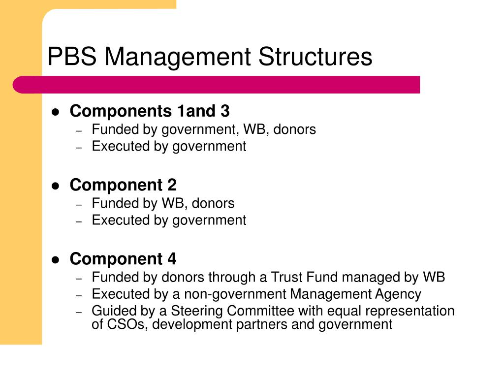 PBS Management Structures