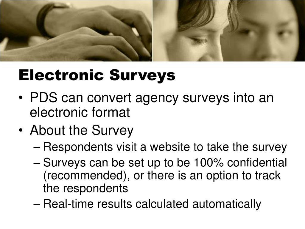 Electronic Surveys