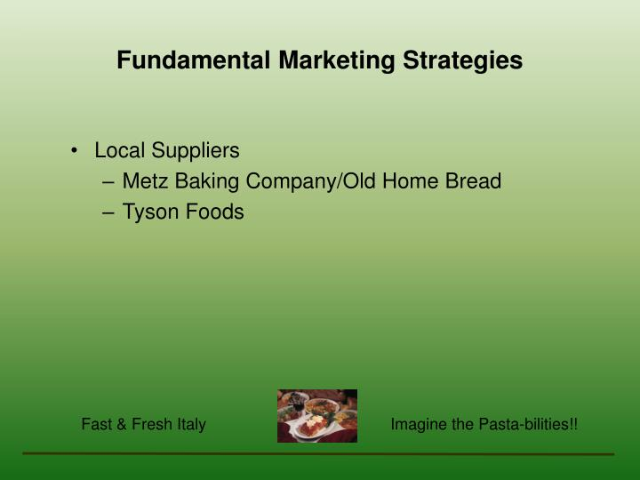 Fundamental Marketing Strategies