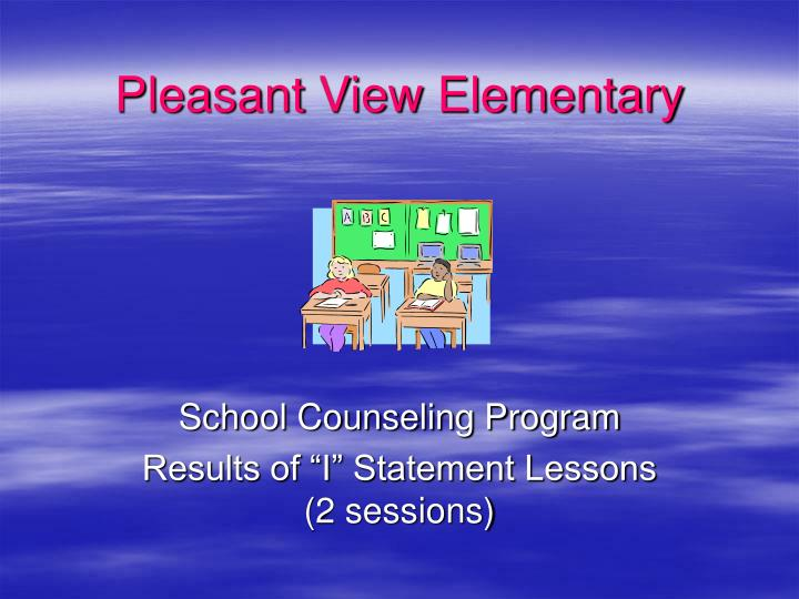 Pleasant view elementary