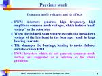 common mode voltages and its effects