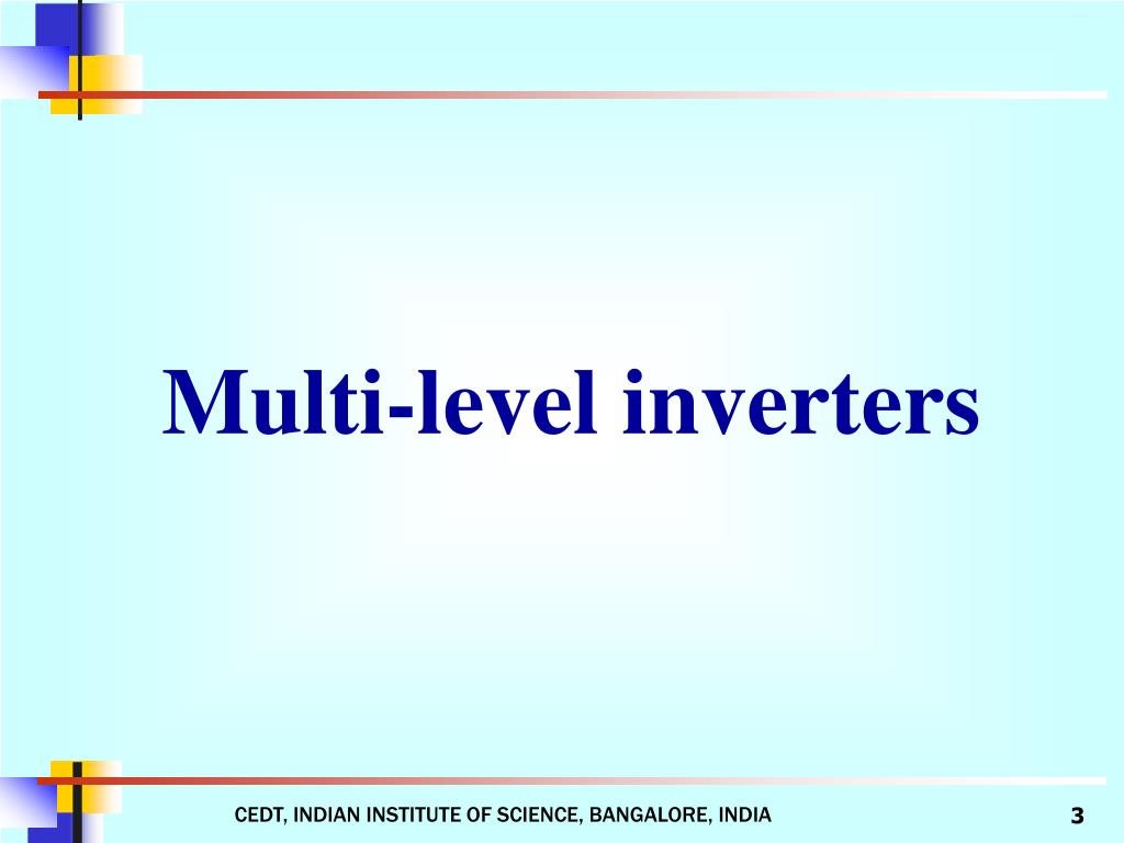 Multi-level inverters