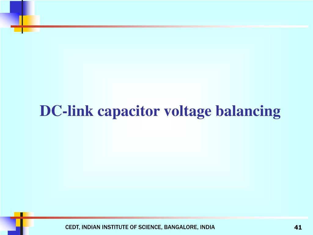 DC-link capacitor voltage balancing