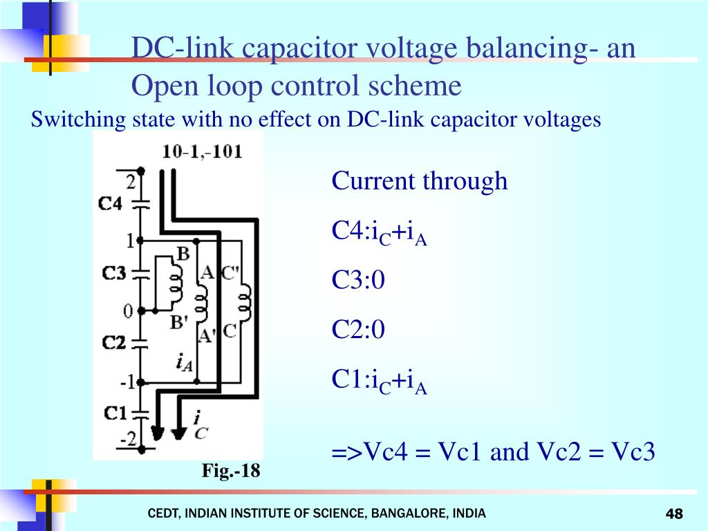 DC-link capacitor voltage balancing- an Open loop control scheme