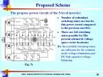 the propose power circuit of the 5 level inverter26