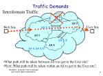 traffic demands4