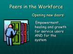 peers in the workforce14