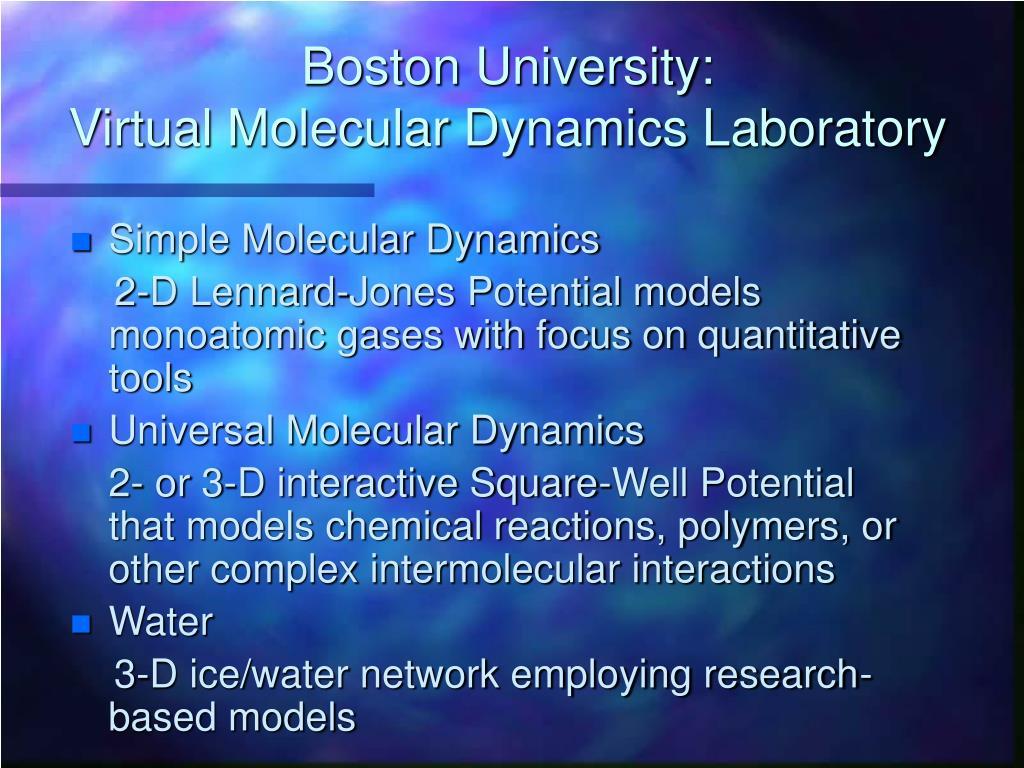 Boston University: