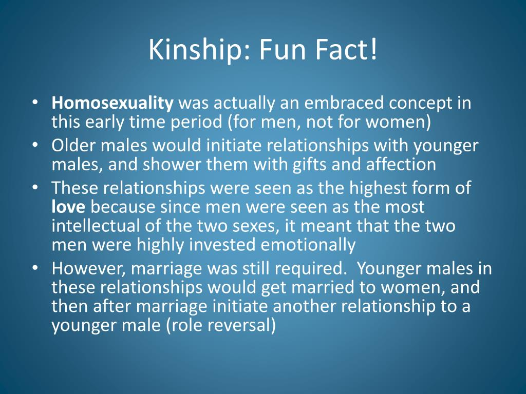 Kinship: Fun Fact!