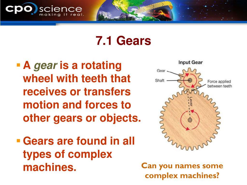 7.1 Gears