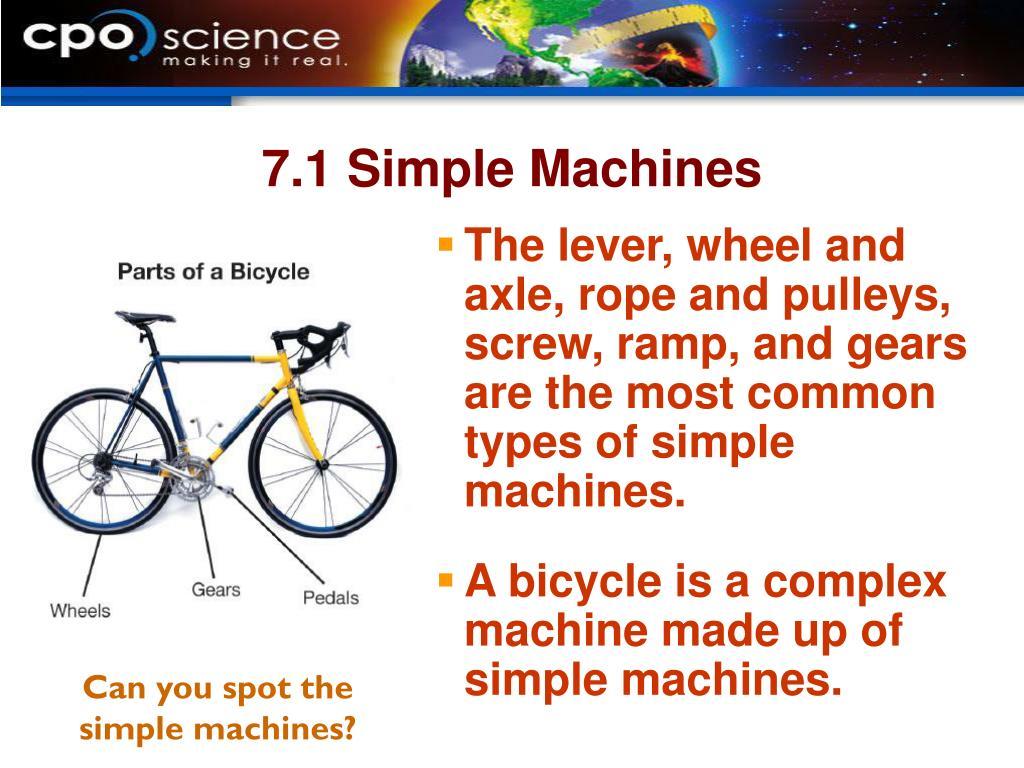 7.1 Simple Machines