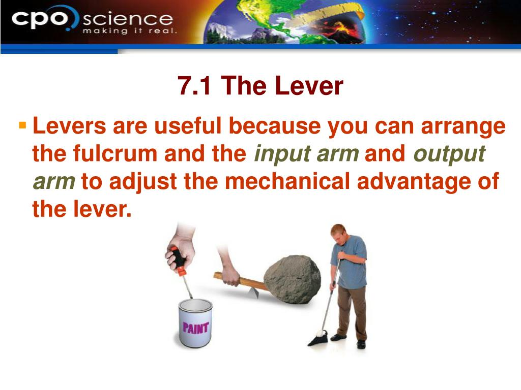 7.1 The Lever