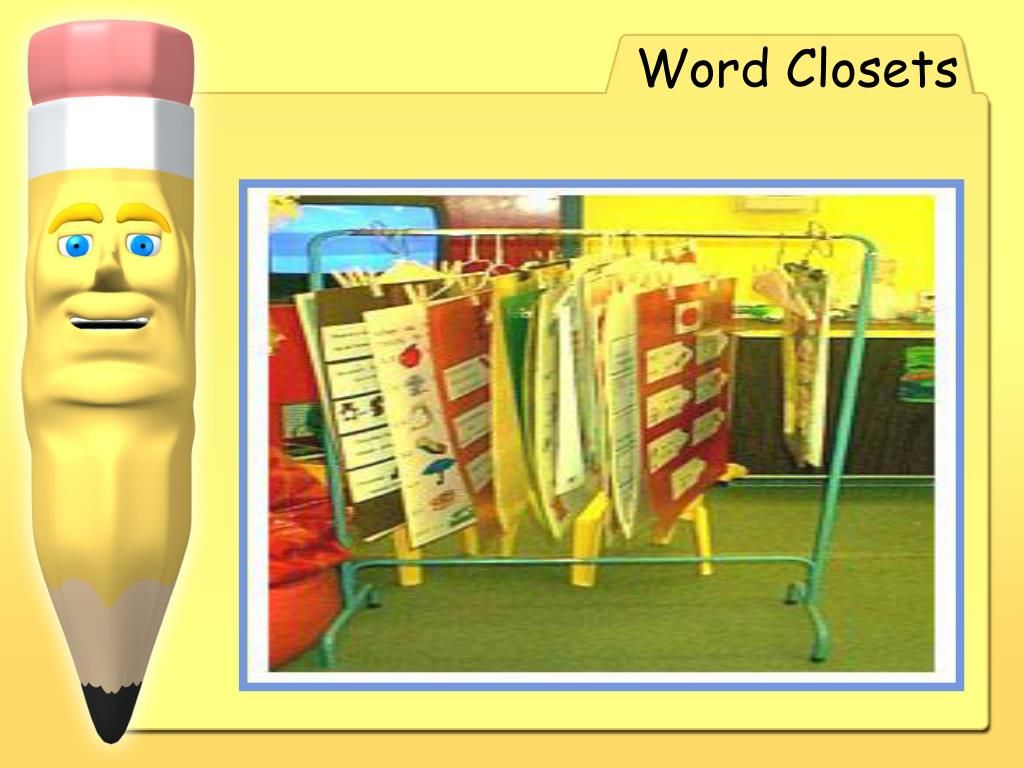 Word Closets