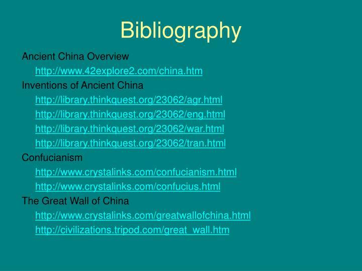 Ancient China  42explore2com