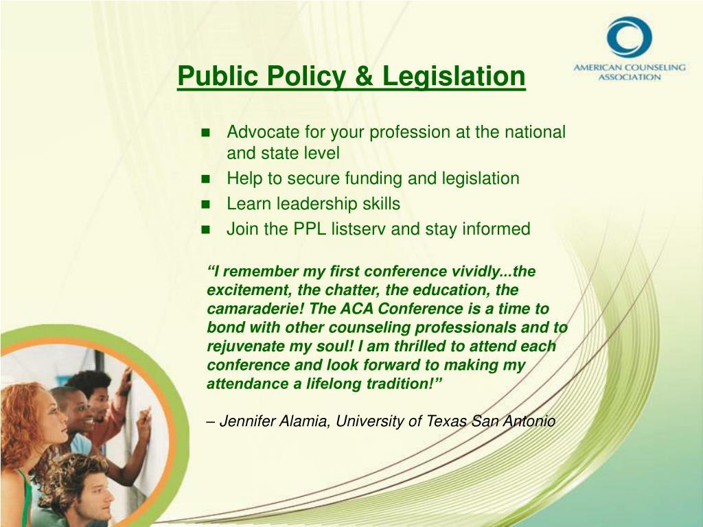 Public Policy & Legislation