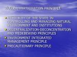public participation principle