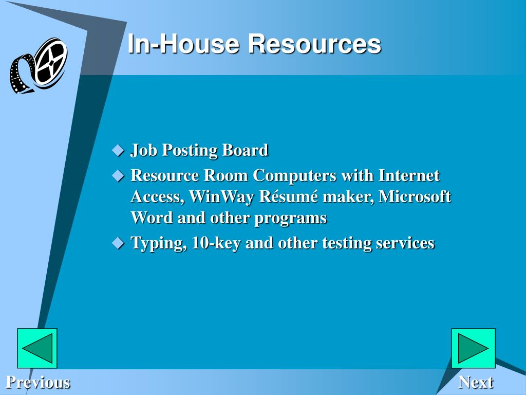 In-House Resources
