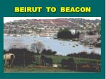 beirut to beacon