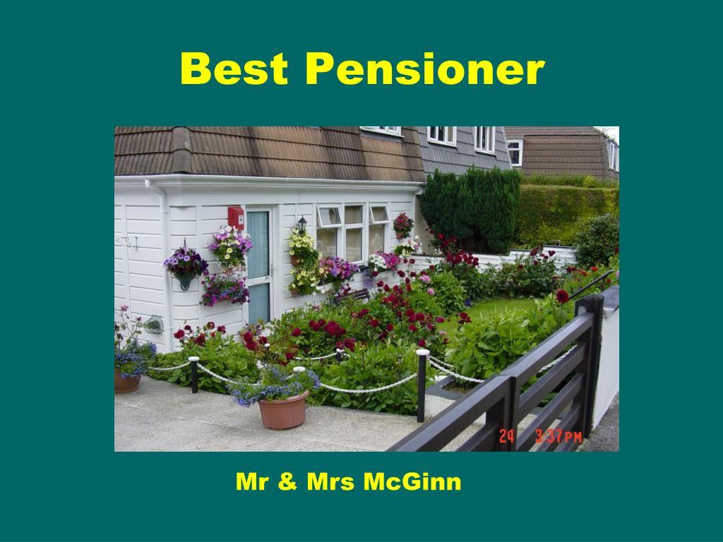 Best Pensioner