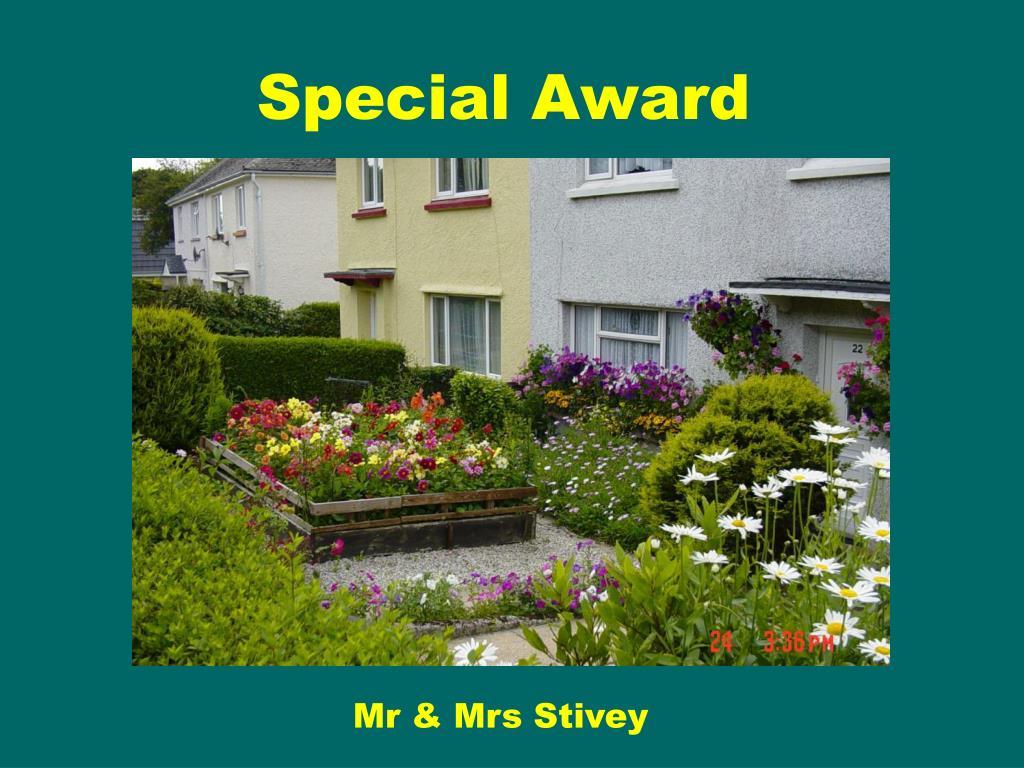 Special Award
