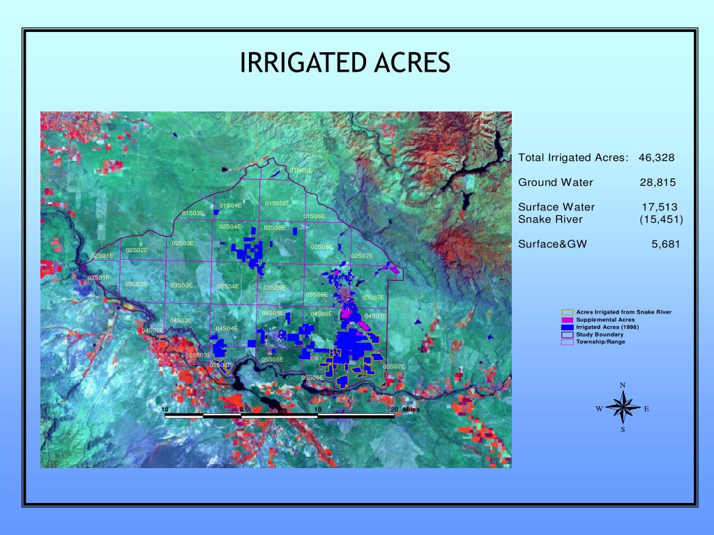 IRRIGATED ACRES