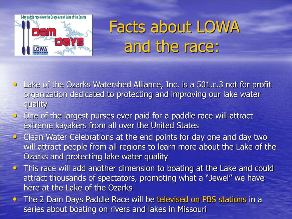 Facts about LOWA
