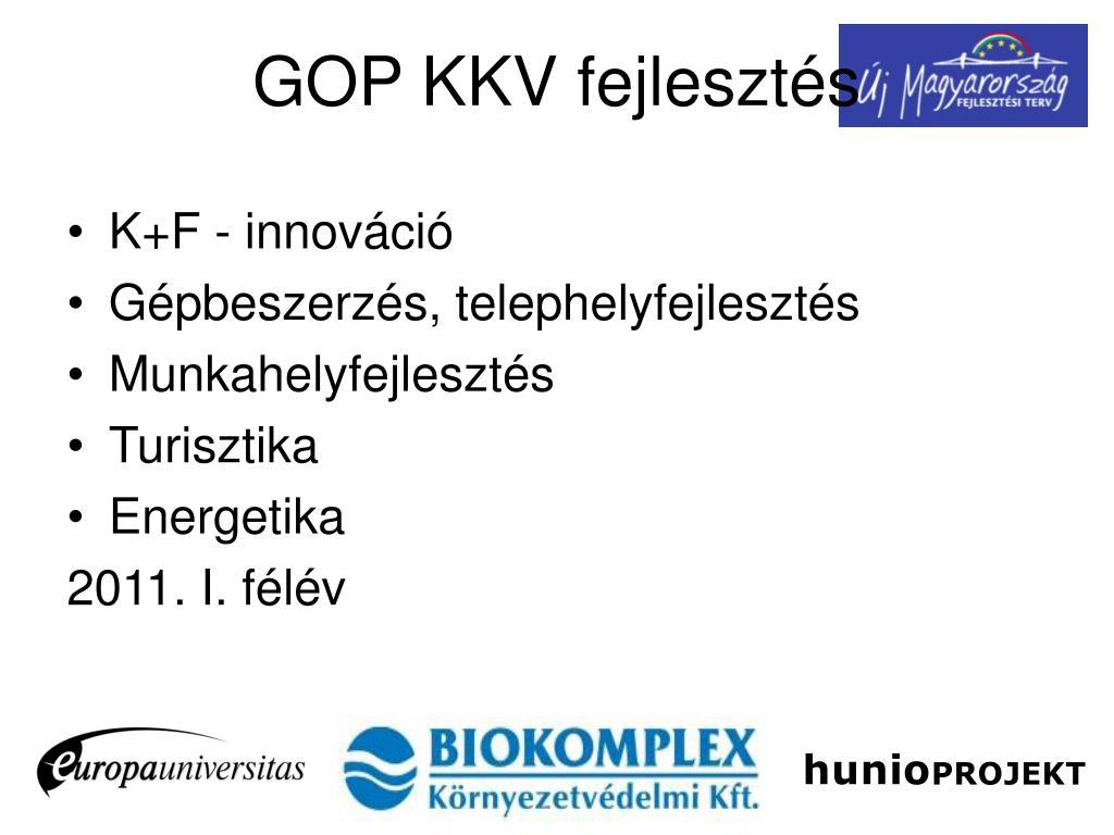 K+F - innováció