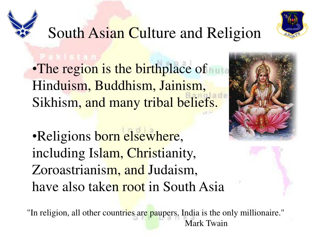 South Asian Culture and Religion