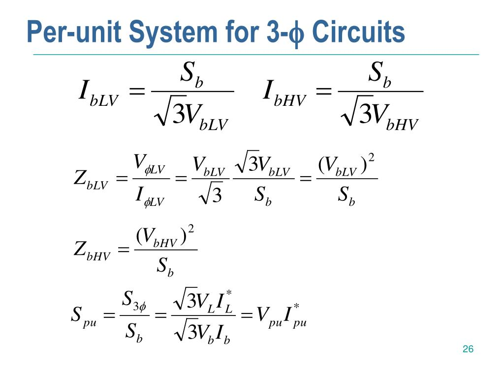 Per-unit System for