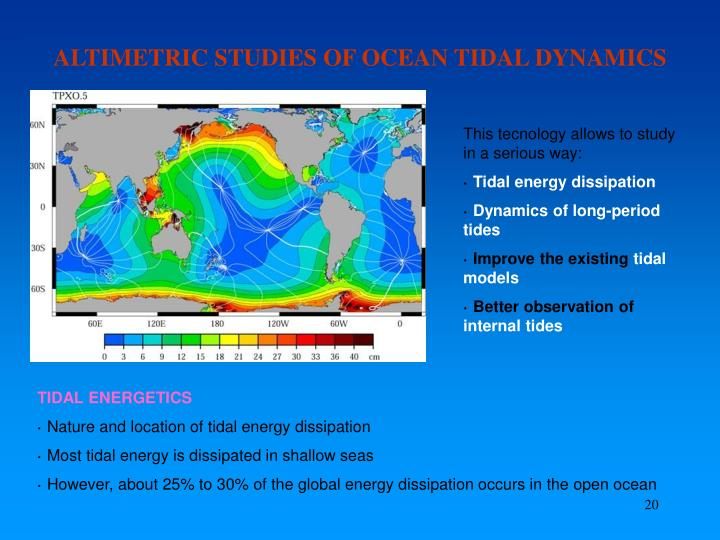 ALTIMETRIC STUDIES OF OCEAN TIDAL DYNAMICS