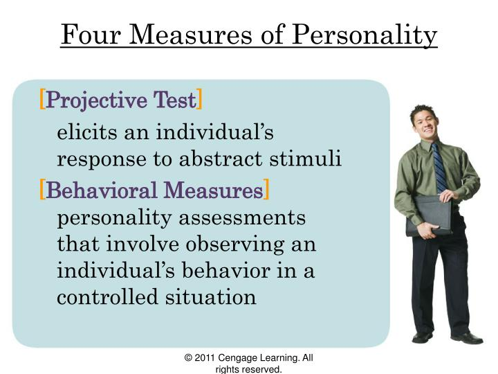 Four Measures of Personality