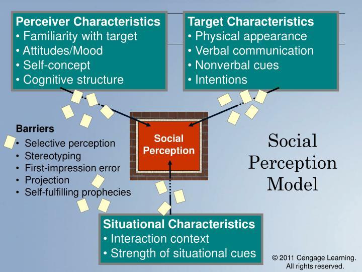 Perceiver Characteristics