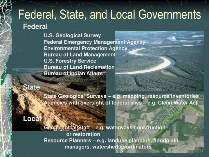 Federal, State, and Local Governments