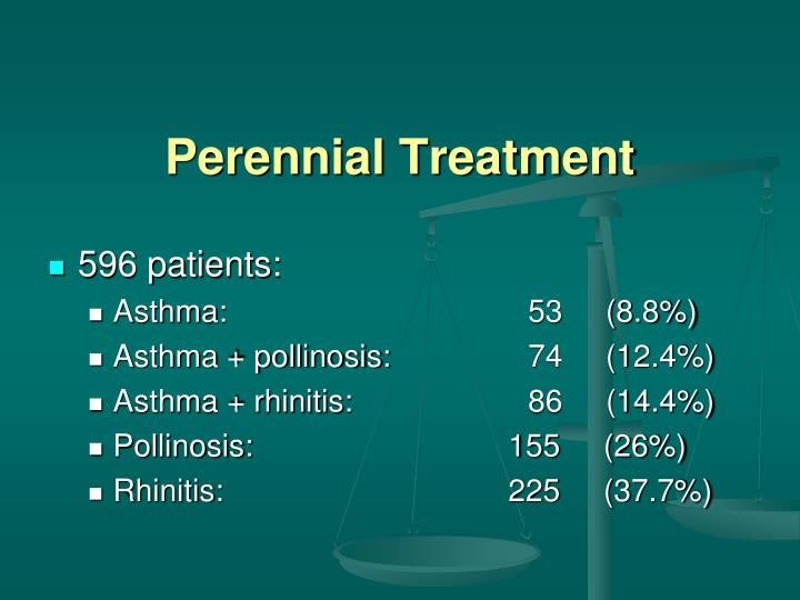 Perennial Treatment