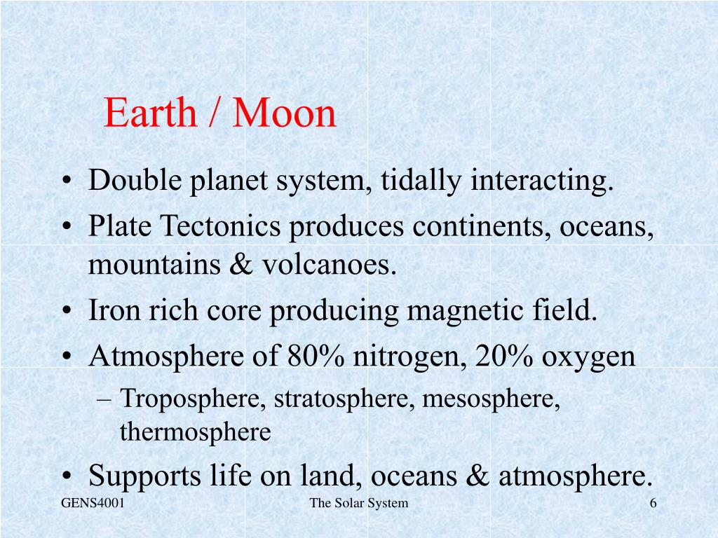 Earth / Moon