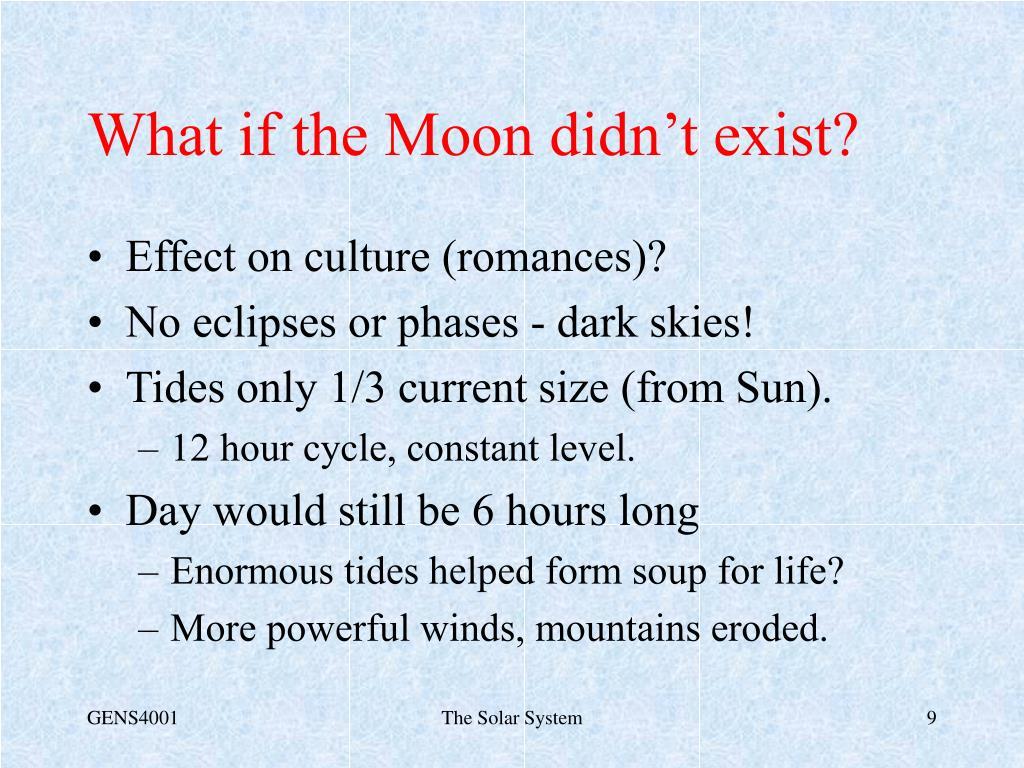 Effect on culture (romances)?